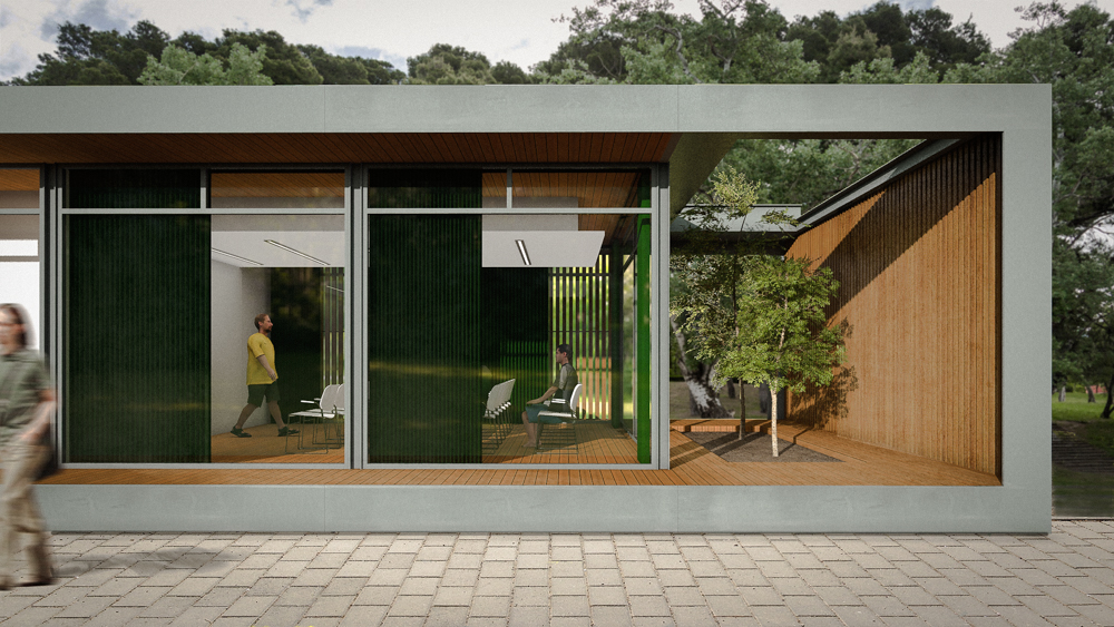 Aula de la Naturaleza . Javier Marín Arquitecto