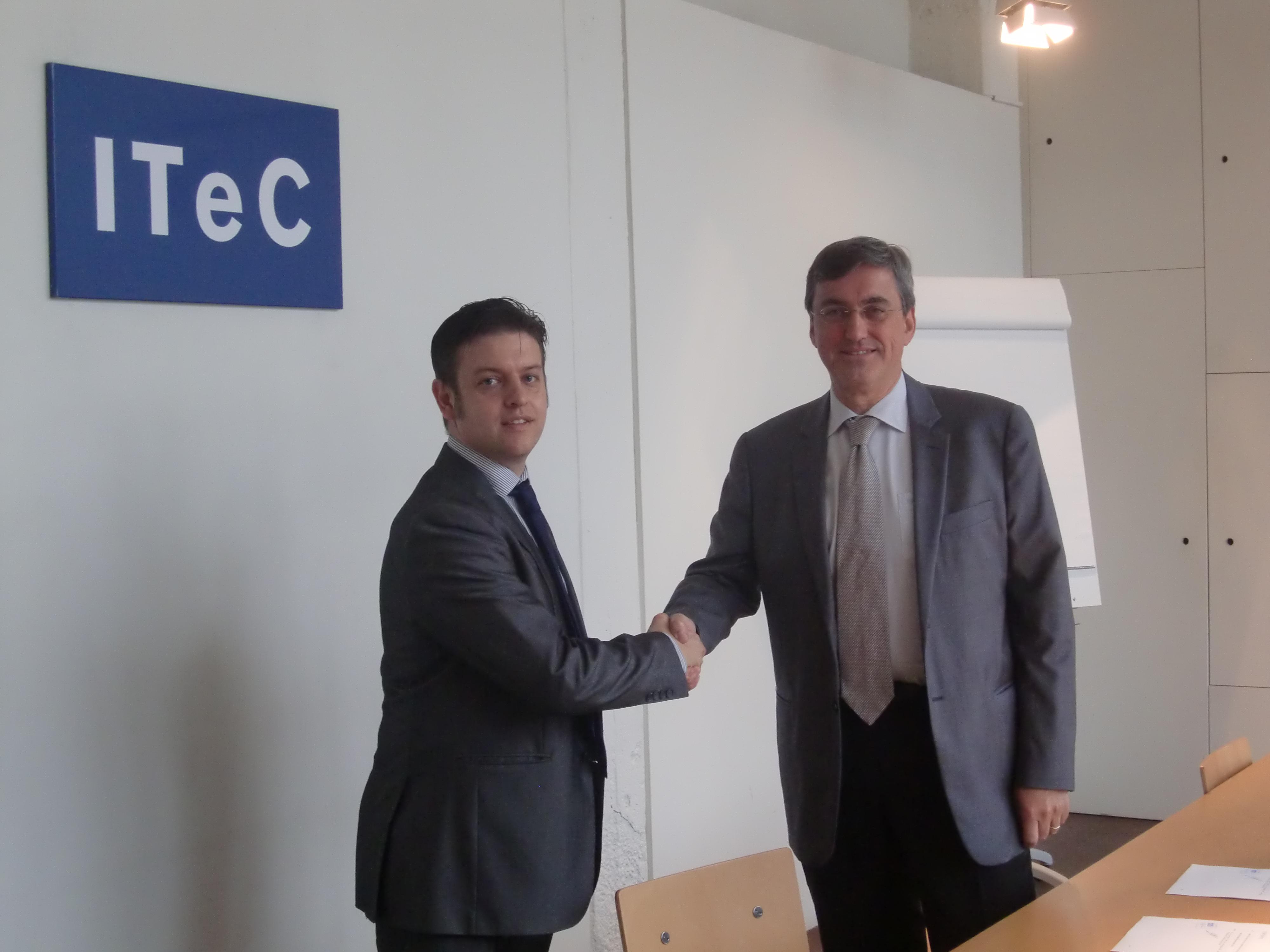 Acuerdo entre Bimetica y ITeC