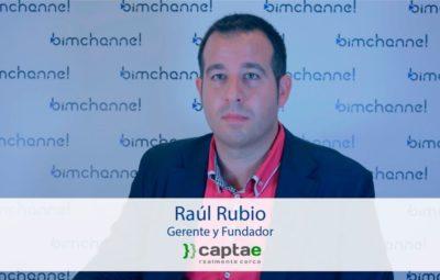 BIM - Entrevista a Raúl Rubio Director de CAPTAE - BIMEXPO 2016