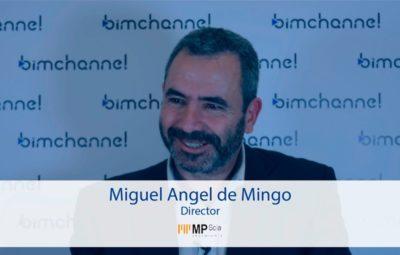 BIM - Entrevista a Miguel Angel de Mingo en representación de MP SCIA INGENIERÍA - BIMEXPO 2016