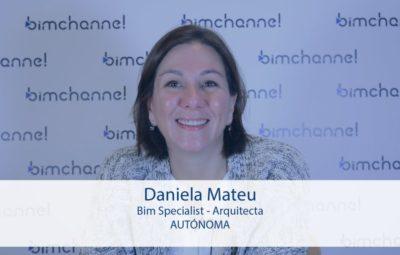 bim - Entrevista a Daniela Mateu Arquitecta especialista en BIM - BIMEXPO 2016