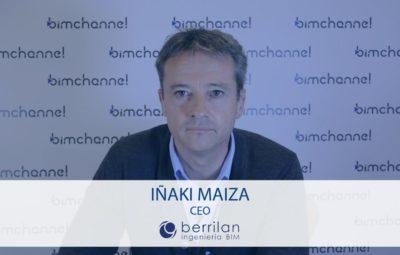 BIM Entrevista a Iñaki Maiza CEO de BERRILAN BIM - BIMEXPO 2016