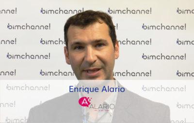 Entrevista a Enrique Alario Arquitecto técnico en Alario Arquitectos - BIMEXPO 2018