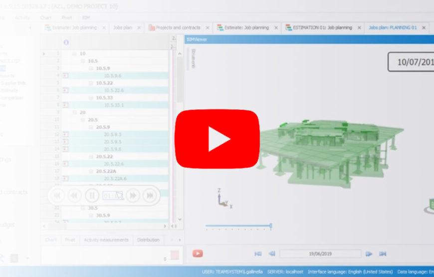 webinar bim video - team systems 4d & 5d