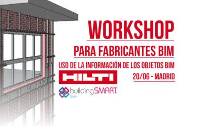 Workshop para Fabricantes BIM, Uso de la Información de los Objetos BIM