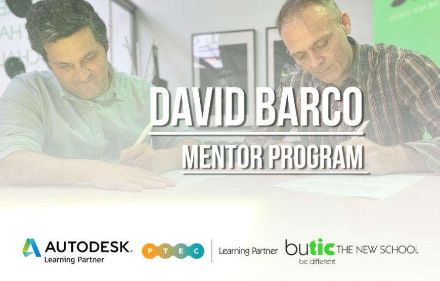 David Barco, coordinador del Mentor Program y miembro del Consejo Educativo de butic