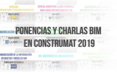 PONENCIAS Y CHARLAS CONSTRUMAT 2019 FOTO PORTADA BIMCHANNEL
