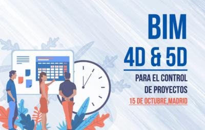 PORTADA BIM 4D Y 5D PARA EL CONTROL DE PROYECTOS MADRID - BUTIC - TEAMSYSTEM