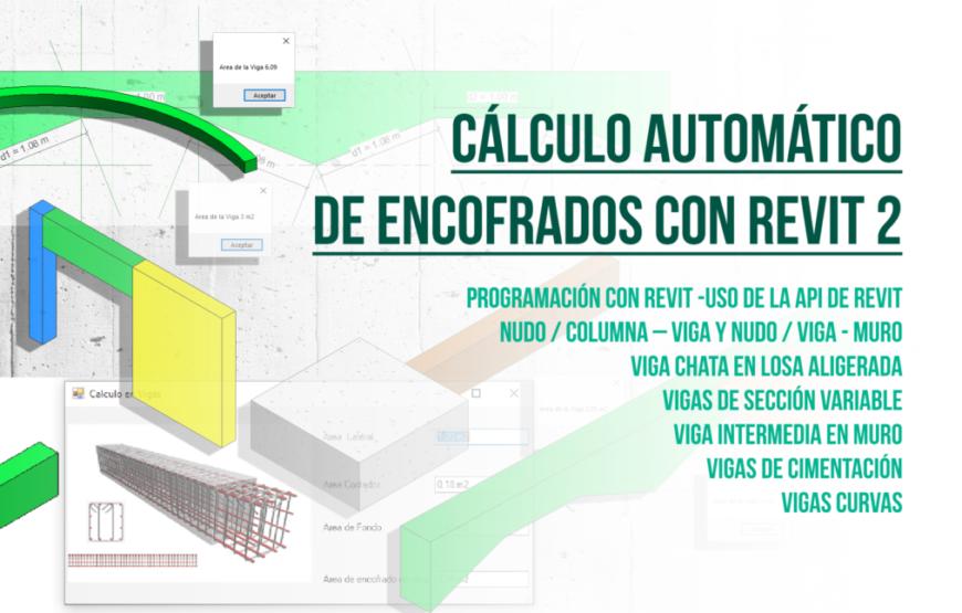 Cálculo Automático de Encofrados con Revit, Parte 2 - tutorial - portada bimchannel