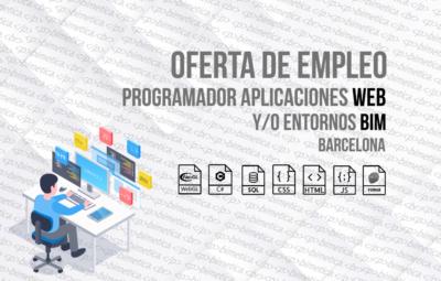 Oferta de empleo - Programador de aplicaciones Web - Barcelona