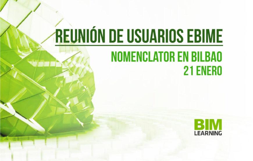 Reunión de Usuarios eBIMe Nomenclator en Bilbao PORTADA BIMCHANNEL