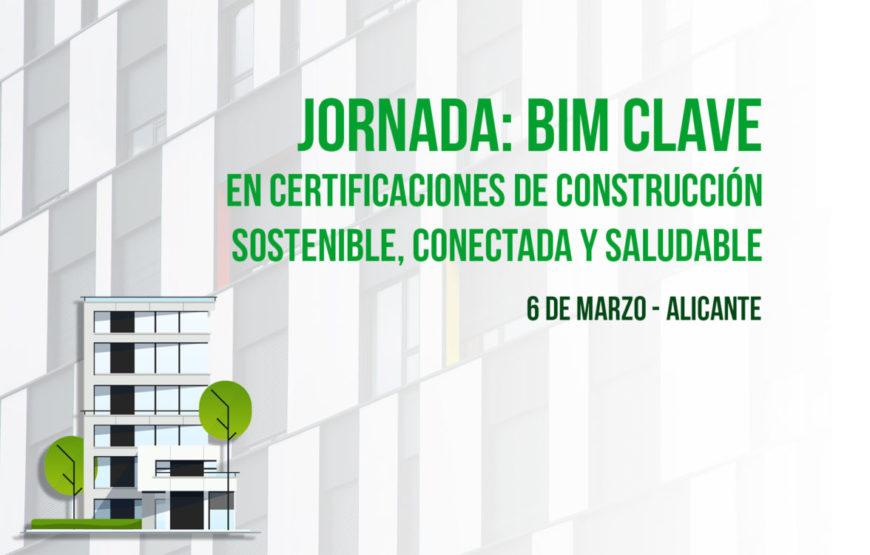 foto portada bimchannel - NdP Jornada BIM clave Construcción Sostenible, Alicante_V2