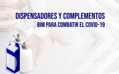 Dispensadores y complementos BIM para combatir el COVID-19 - bimchannel