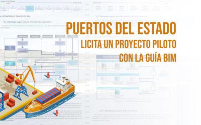 Puertos del Estado licita un Proyecto piloto con la guía BIM-foto portada- bimchannel