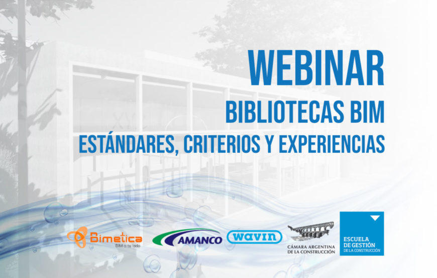 foto portada bimchannel - Webinar Bibliotecas BIM Estándares criterios y experiencias