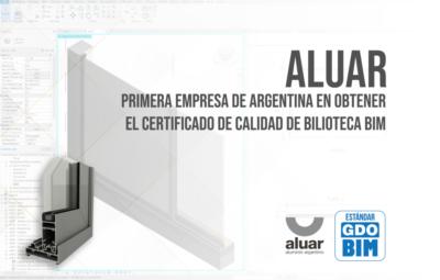 Aluar, primera empresa de Argentina en obtener el Certificado de Calidad de Bilioteca BIM - portada