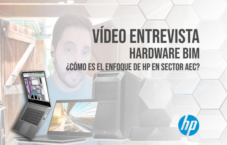 Vídeo Entrevista - Hardware BIM Cómo es el enfoque de HP en sector AEC