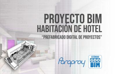 foto portada bichannel - habitacion de hotel modern - proyecto bim